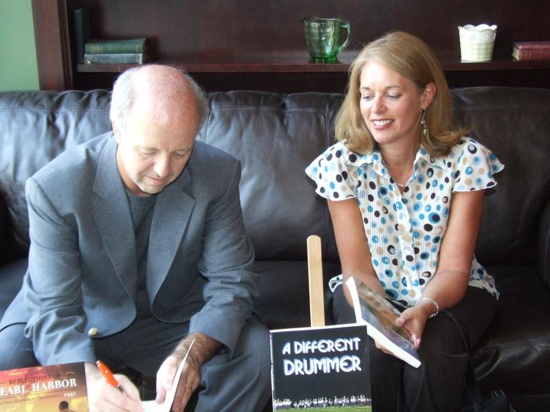 Signing at Ryan's Tavern, 2010.